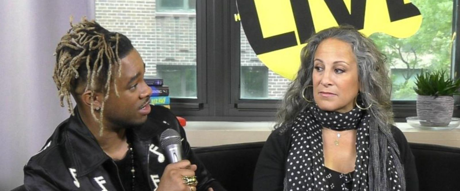 VIDEO: Elijah Blake and Gina Belafonte on activism and music
