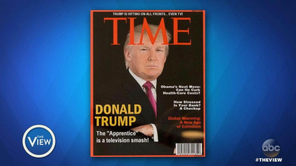 VIDEO: 'Time' asks Trump to remove phony covers
