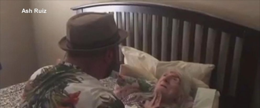 VIDEO: Man serenades 98-year-old grandma with Unforgettable