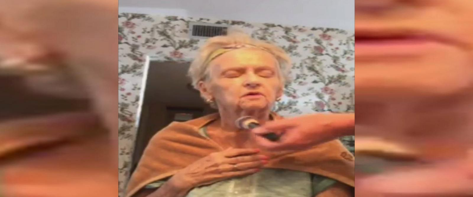 VIDEO: Celebrity makeup artist dolls up his mother to help her cope