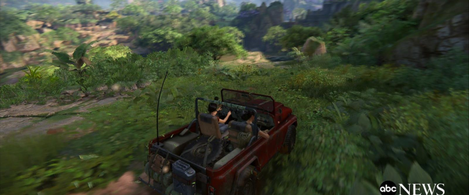 VIDEO: Sneak peek: the new 'Uncharted' video game