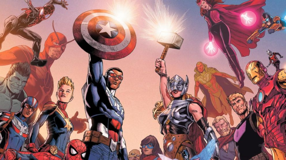 Go inside Marvel's climactic 'Secret Empire' finale
