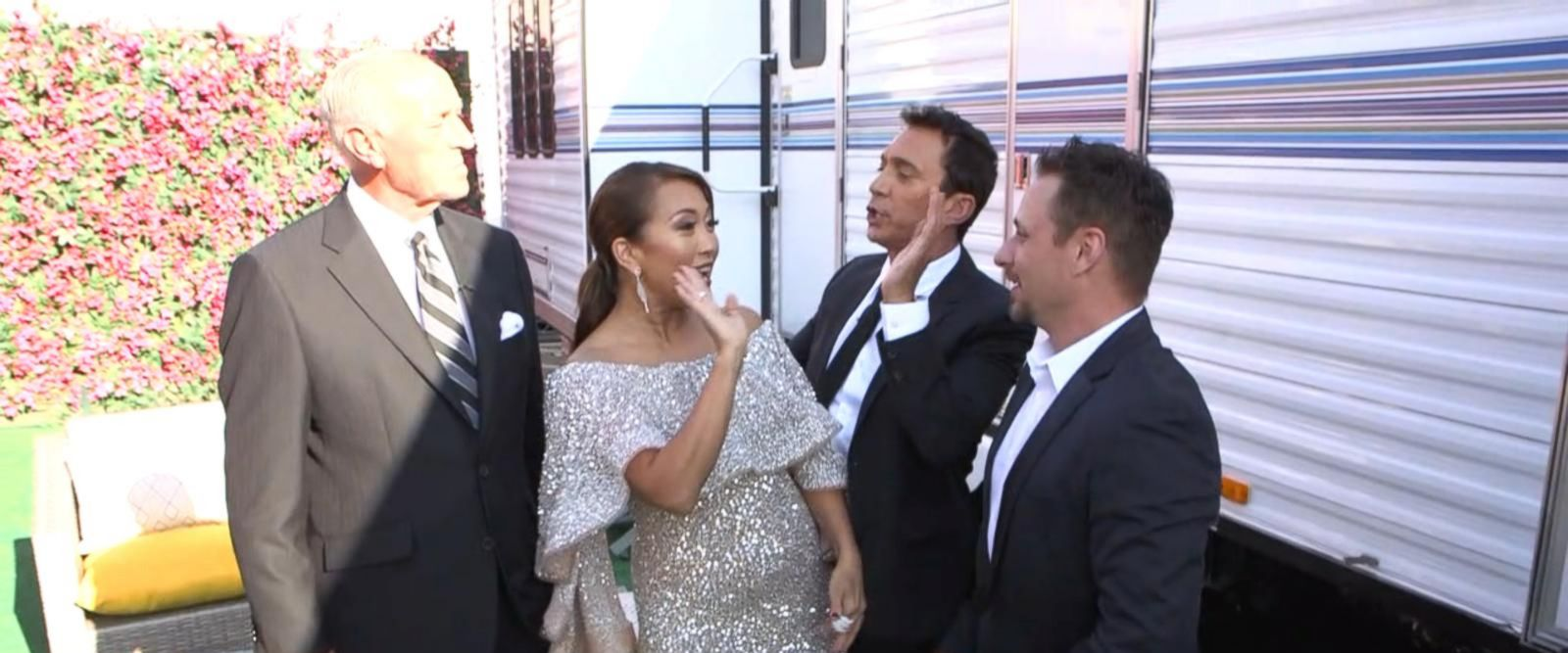 VIDEO; Behind the scenes with 'Dancing With the Stars'