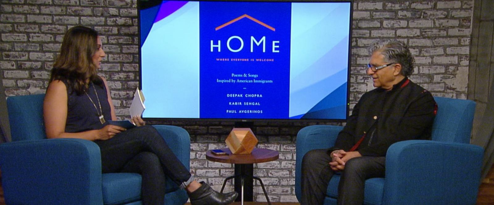 VIDEO: Author Deepak Chopra discusses his new book 'Home.'
