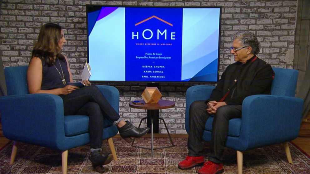 Author Deepak Chopra discusses his new book 'Home'