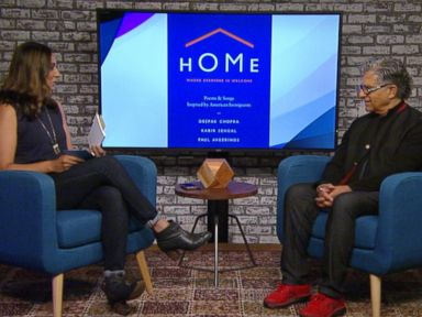 WATCH:  Author Deepak Chopra discusses his new book 'Home'
