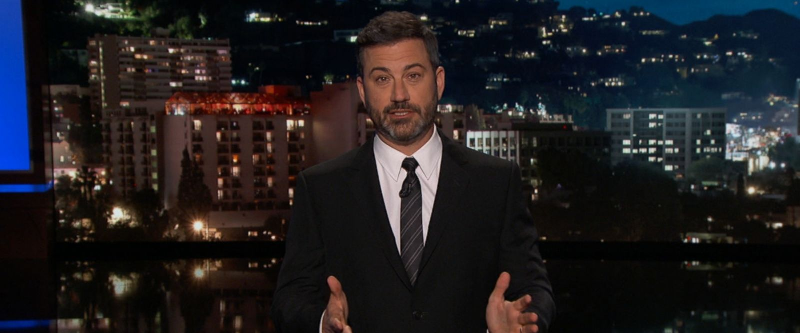VIDEO: Jimmy Kimmel returned to the topic of health care reform during his monologue Monday night.