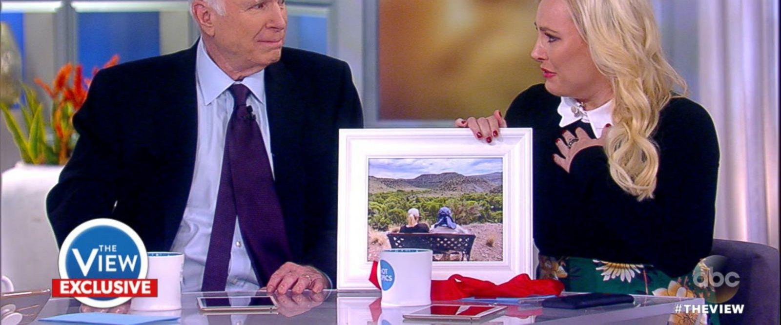 VIDEO: Sen. John McCain gives daughter Meghan McCain a special birthday gift