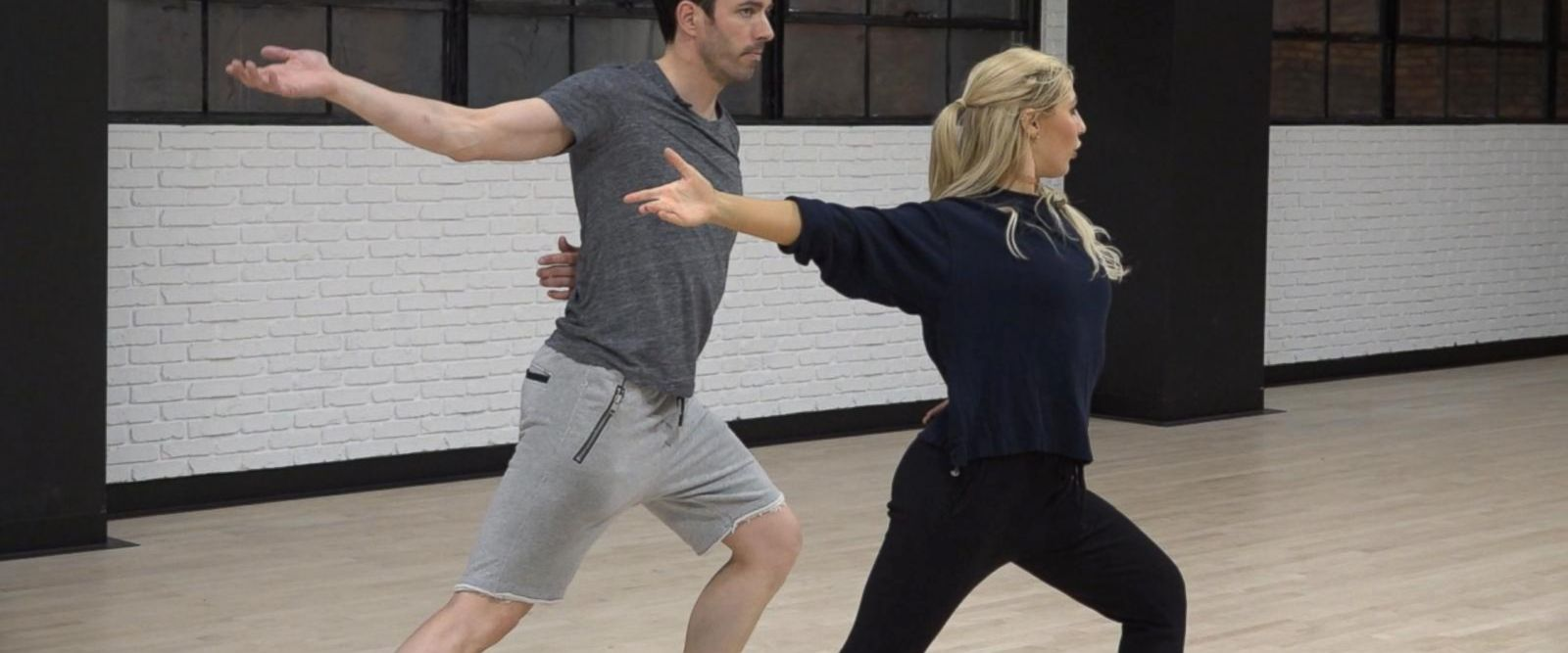 VIDEO: Drew Scott and Emma Slater prep for 'Dancing With the Stars'
