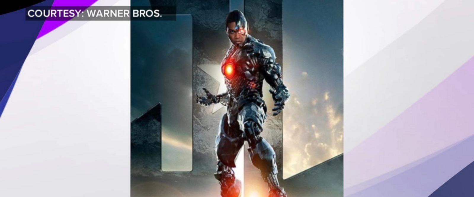 VIDEO: Actor Ray Fisher on how he prepared for Justice League role