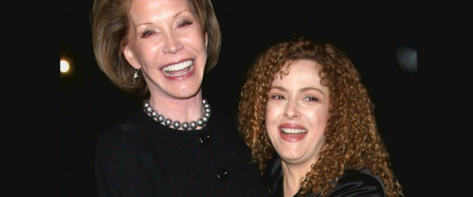 VIDEO: Bernadette Peters says she had her wedding at Mary Tyler Moore's house