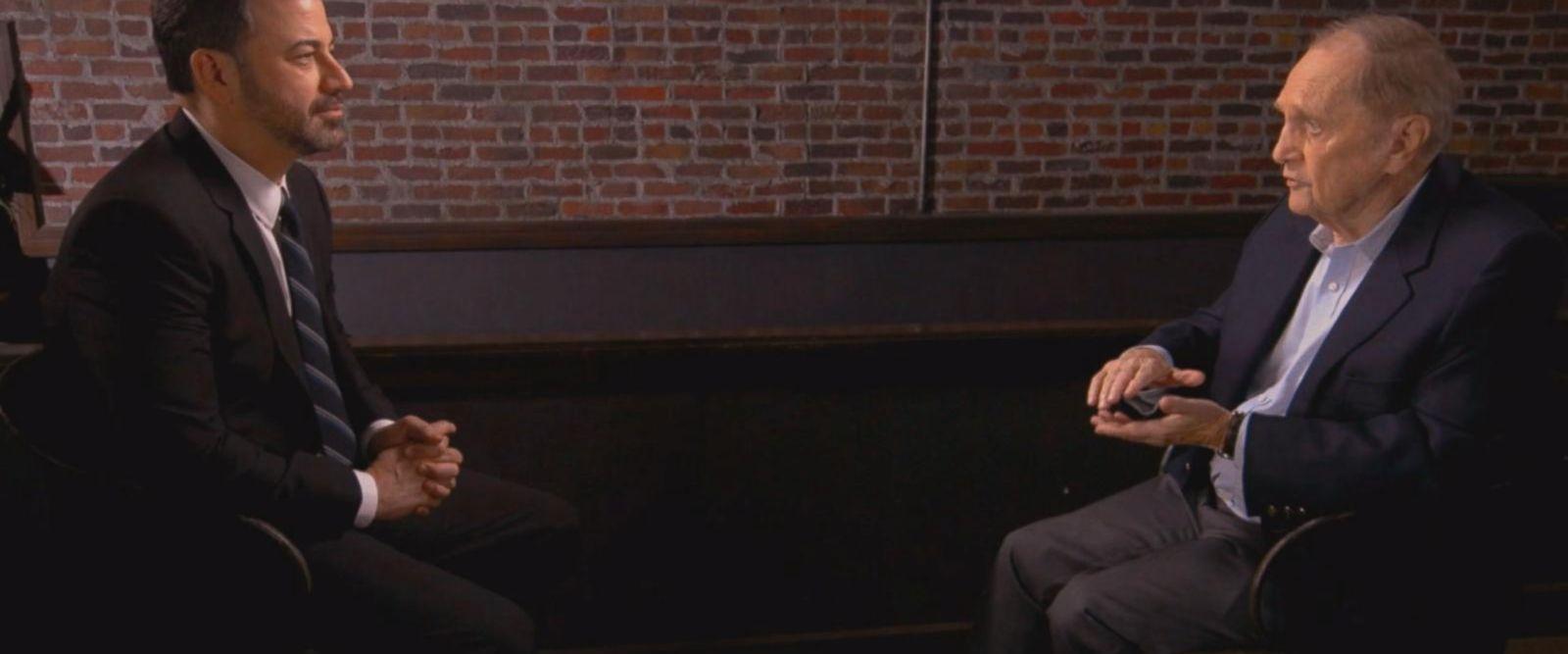 VIDEO: Bob Newhart tells Jimmy Kimmel how Johnny Carson got Don Rickles back for breaking cigarette box