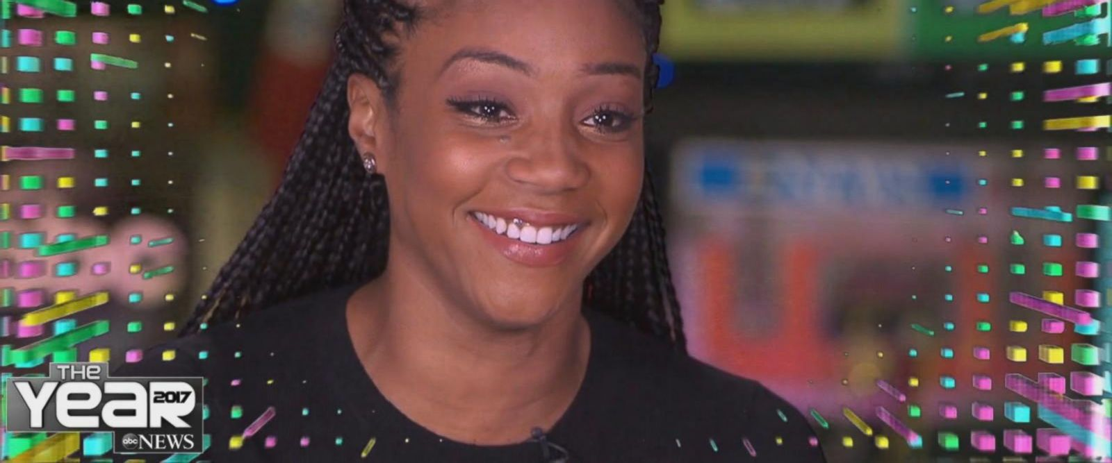 VIDEO: Tiffany Haddish on how life has changed since starring in 'Girls Trip'