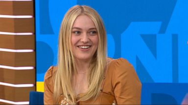 'VIDEO: Dakota Fanning dishes on new psychological thriller 'The Alienist'' from the web at 'http://a.abcnews.com/images/Entertainment/180116_gma_breakfast4_16x9_384.jpg'