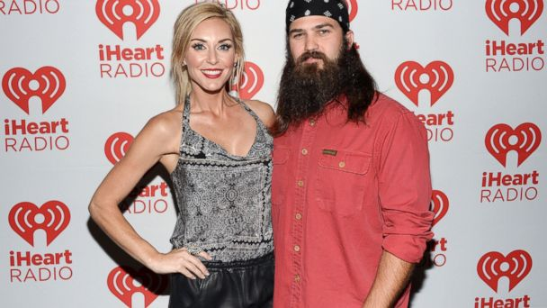 PHOTO: Jessica Robertson and Jep Robertson of Duck Dynasty attend the iHeartRadio Music Festival, Sept. 20, 2013 in Las Vegas.