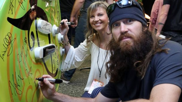 PHOTO: Missy Robertson and Jase Robertson