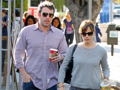 PHOTO: Ben Affleck and Jennifer Garner are seen on November 7, 2013 in Los Angeles, California.