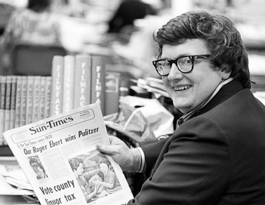The life of film critic Roger Ebert