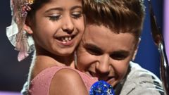 Justin Bieber Meets A Make-A-Wish Recipient, Grace Kesablak