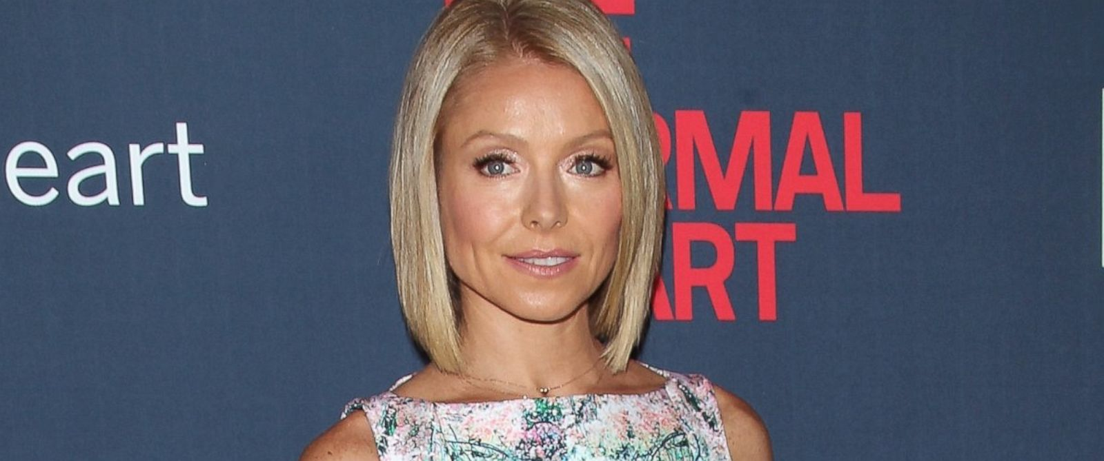 "PHOTO: Kelly Ripa attends ""The Normal Heart"" New York Screening at Ziegfeld Theater, May 12, 2014, in New York City."