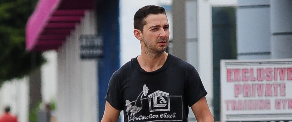 PHOTO: Shia LaBeouf is seen on May 22, 2014 in Los Angeles.