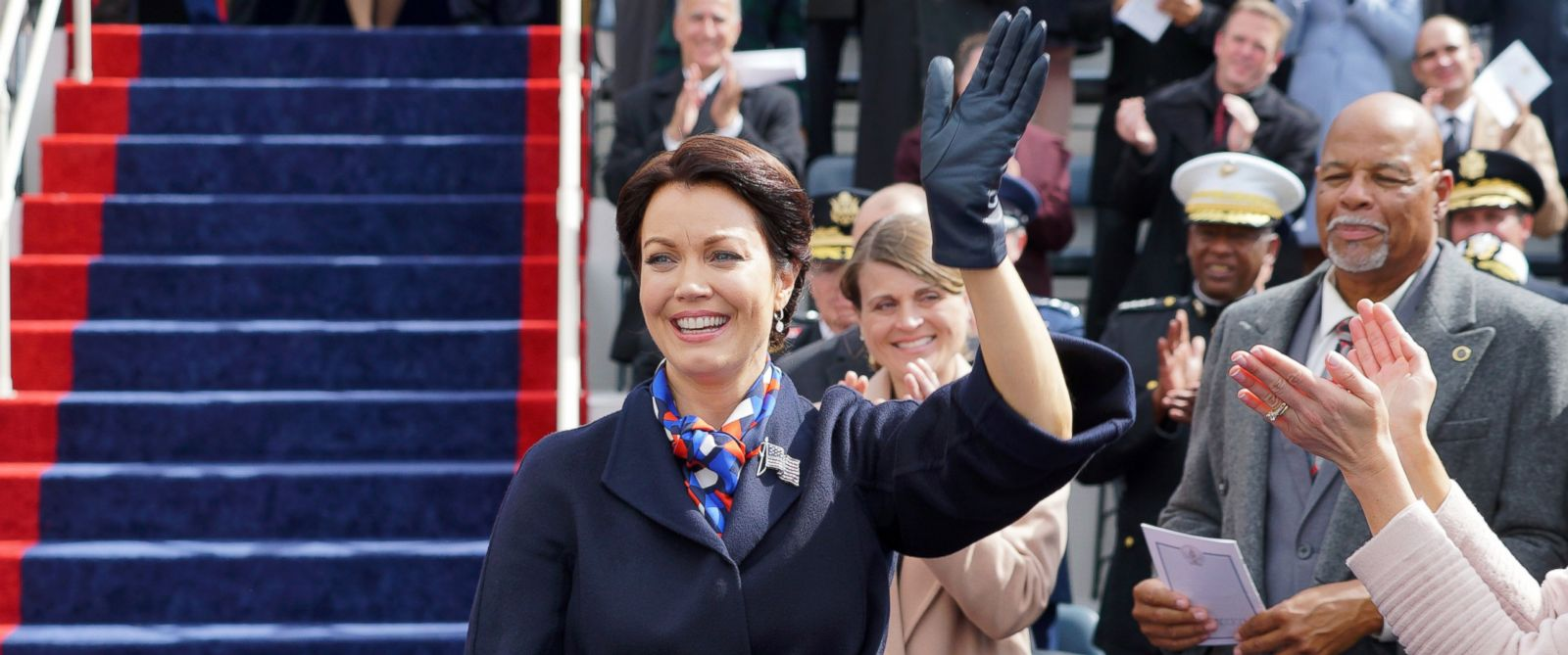 """PHOTO: Bellamy Young appears in a scene on """"Scandal."""""""