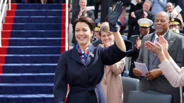 PHOTO: Bellamy Young appears in a scene on