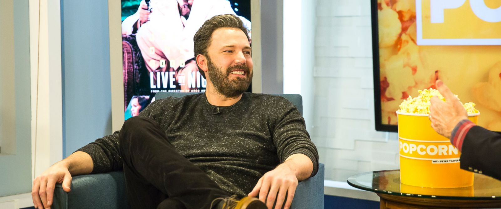 PHOTO: Ben Affleck at the ABC Studios in New York City, Dec. 13, 2016.