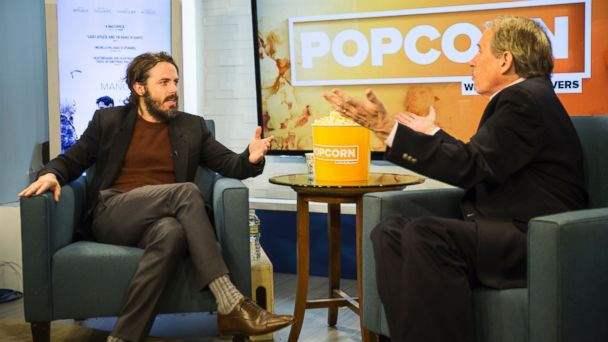 PHOTO: Casey Affleck and Peter Travers at the ABC News studios in New York City, Nov. 18, 2016.
