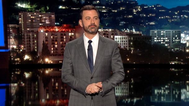 PHOTO: Jimmy Kimmel during his monologue on