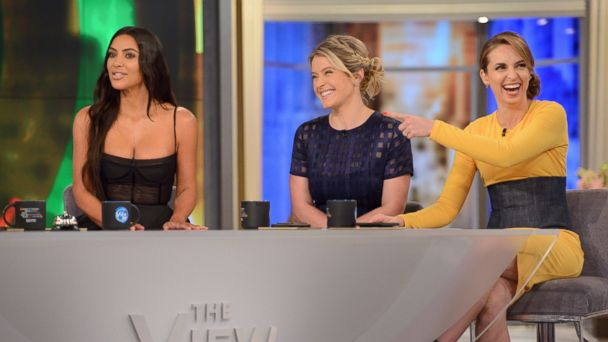 PHOTO: Kim Kardashian joined the co-hosts of