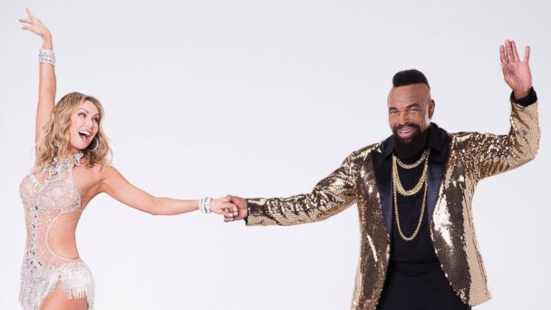 PHOTO: Mr. T, right, will compete with pro Kym Herjavec on the new season of