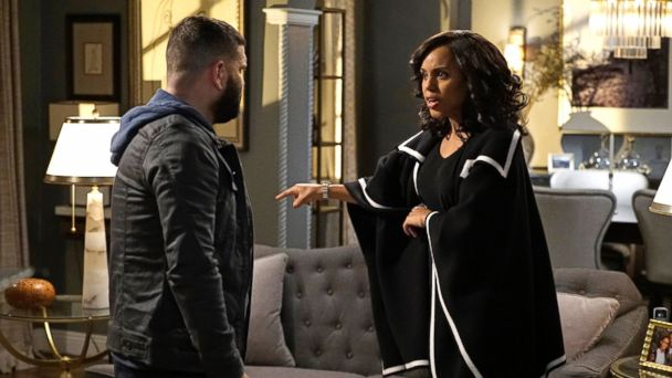 PHOTO: Guillermo Diaz and Kerry Washington in ABC's