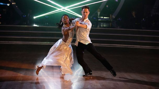 PHOTO: Simone Biles and Sasha Farber appear on