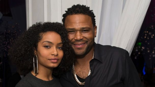 PHOTO: Anthony Anderson and Yara Shahidi from