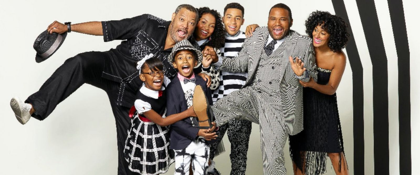 "PHOTO: The cast of ABCs ""black-ish."""