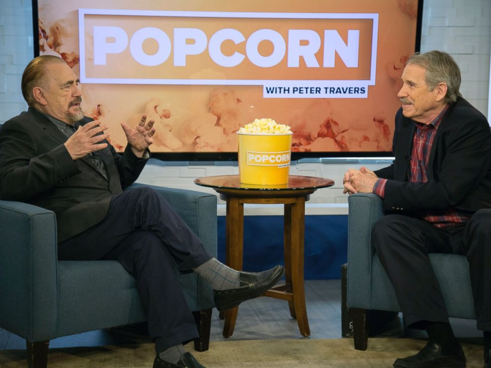 PHOTO: Brian Cox appears on an episode of ABC News Popcorn With Peter Travers.