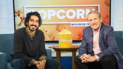 "PHOTO: Dev Patel talked about his movie ""Lion"" on an episode of ABC News ""Popcorn With Peter Travers."""