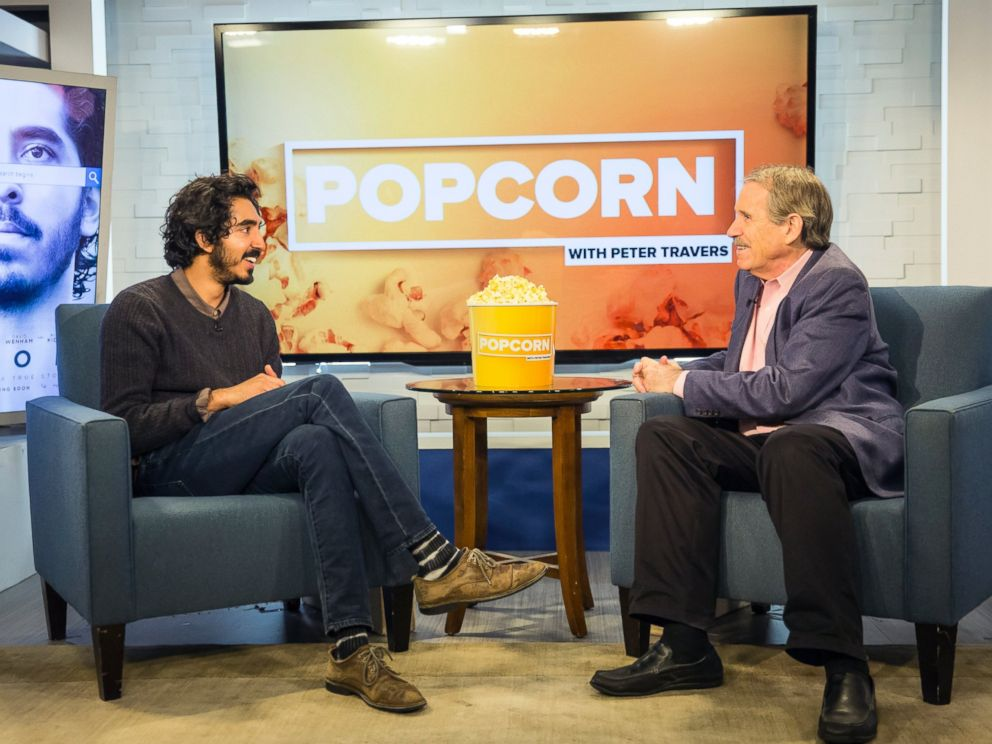 PHOTO: Dev Patel talked about his movie Lion on an episode of ABC News Popcorn With Peter Travers.
