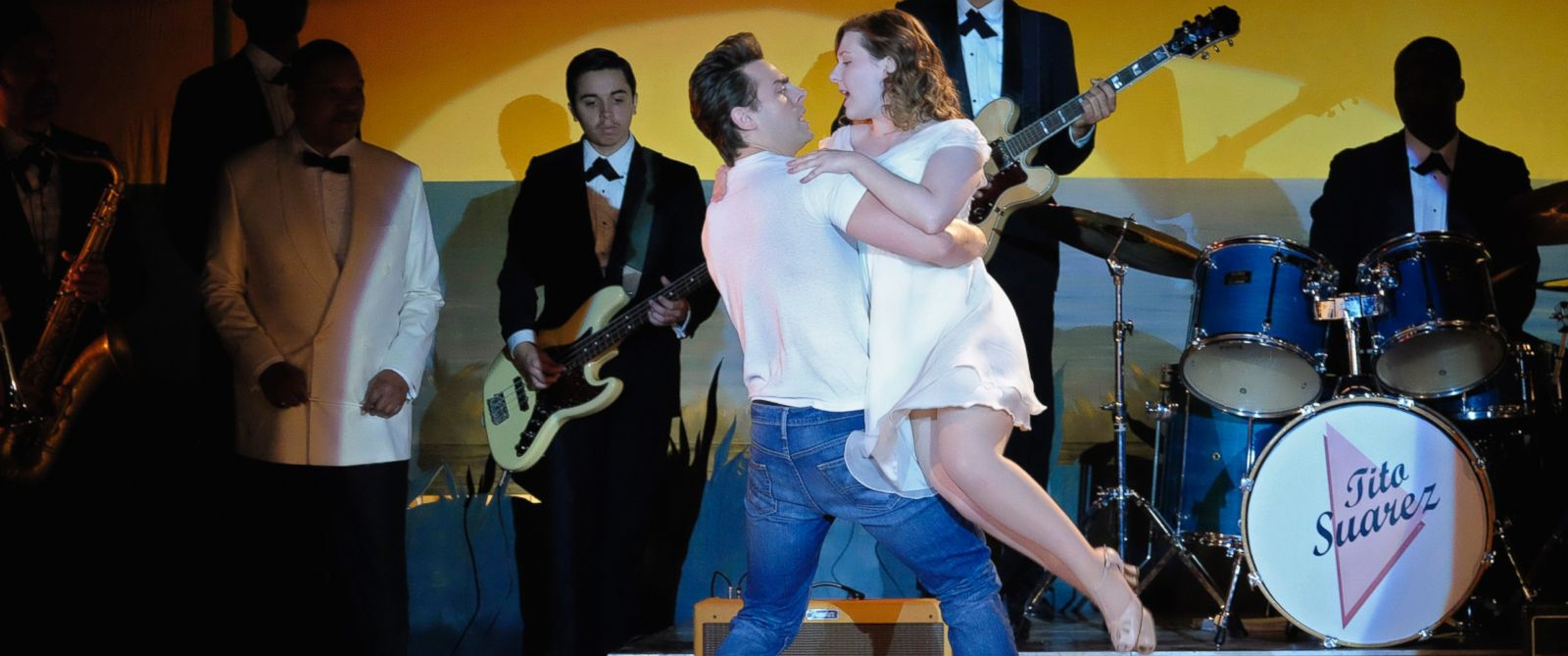"""PHOTO: Colt Prattes and Abigail Breslin in the remake of """"Dirty Dancing,"""" that will air on ABC TV."""