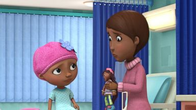 Robin Roberts voices character on 'Doc McStuffins'