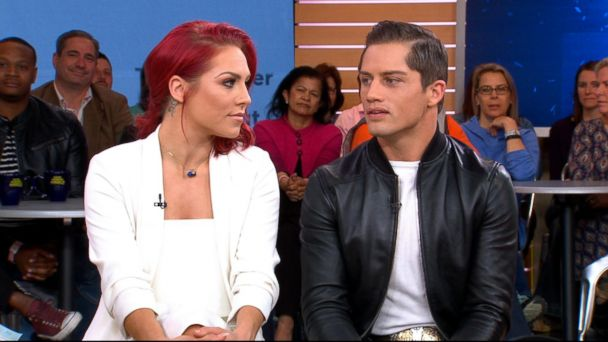 PHOTO: Sharna Burgess and Bonner Bolton appear on