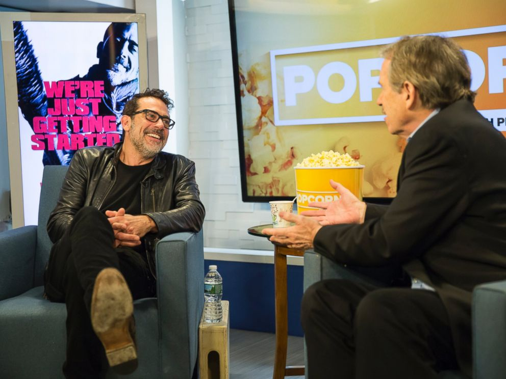 PHOTO: Jeffrey Dean Morgan appeared on Popcorn with Peter Travers.
