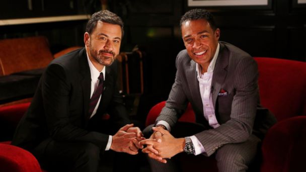 PHOTO: Oscars host Jimmy Kimmel spoke to ABC News' T. J. Holmes in an interview for