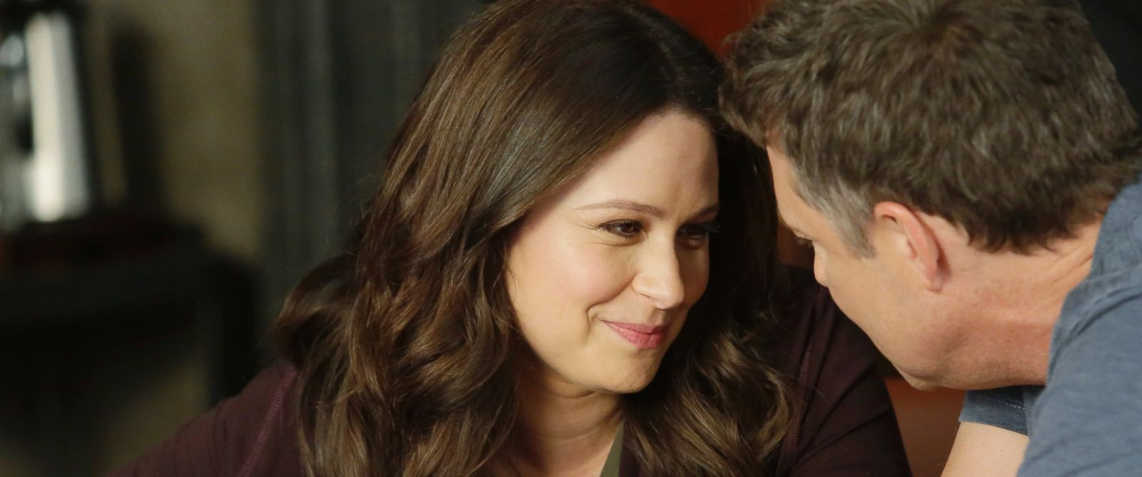"PHOTO: Katie Lowes and George Newbern in ABCs ""Scandal."""