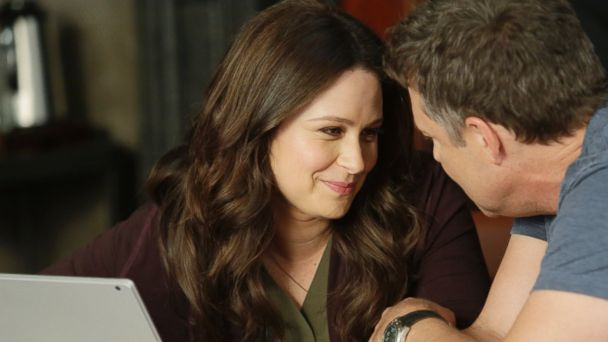 PHOTO: Katie Lowes and George Newbern in ABC's