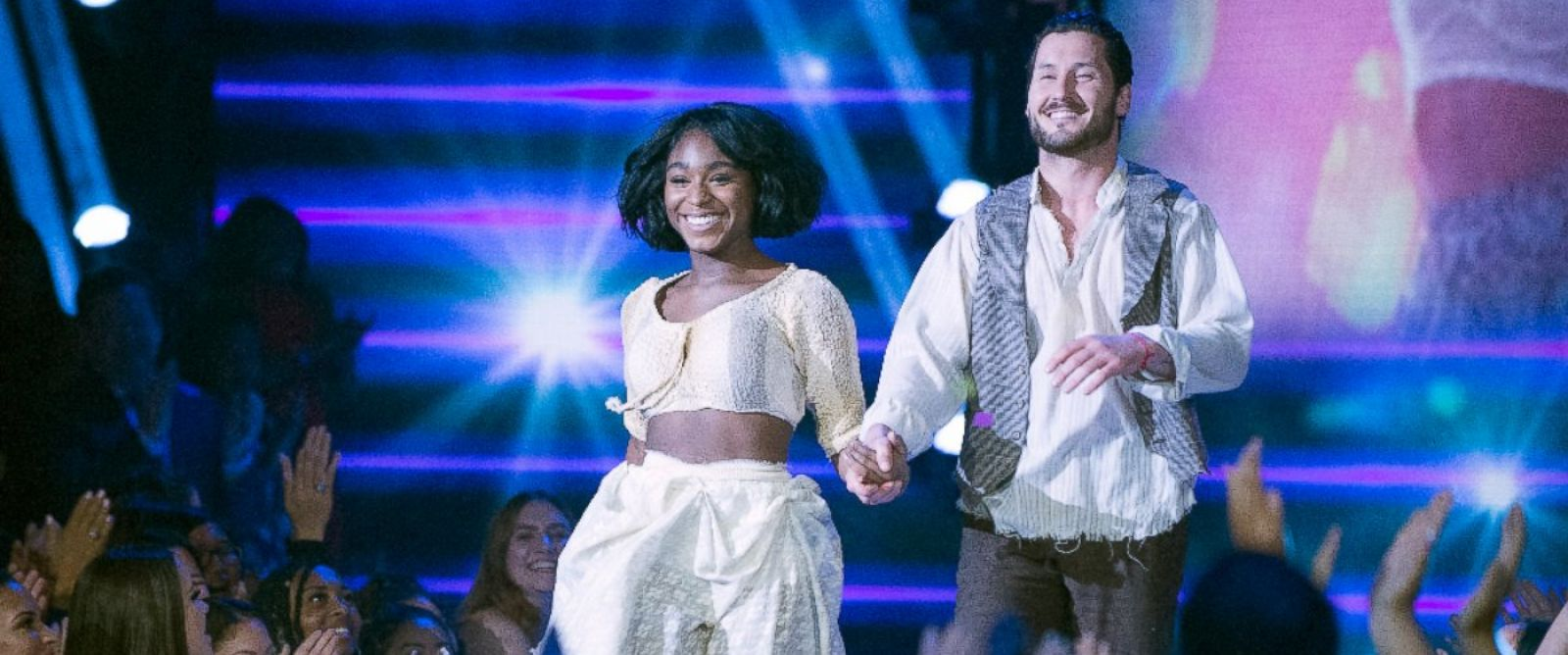 """PHOTO: Normani Kordei and Valentin Chmerkovskiy perform on """"Dancing With the Stars."""""""