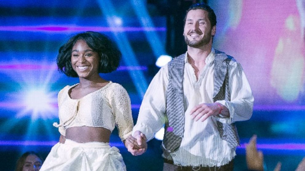 PHOTO: Normani Kordei and Valentin Chmerkovskiy perform on