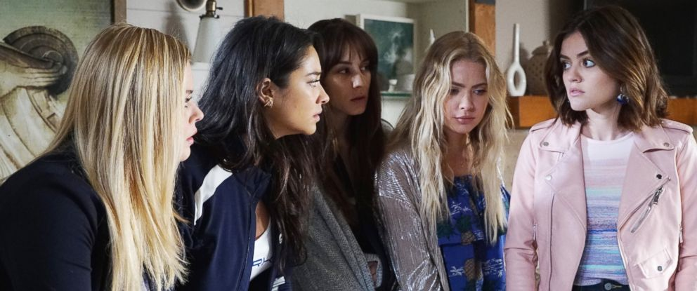 "PHOTO: A scene from ""Pretty Little Liars."""