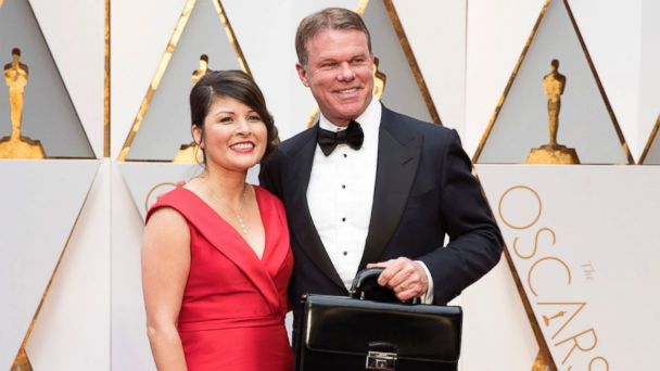 The accountants from PricewaterhouseCoopers attend the 89th annual Academy Awards, Feb. 26, 2017, in Los Angeles.PHOTO: